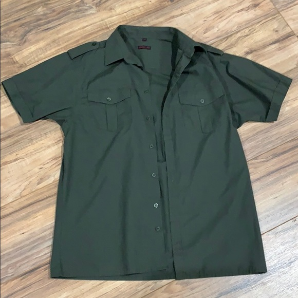 5794e899a6ed Matalan Shirts | Price Firmmens Short Sleeve Top In Green | Poshmark